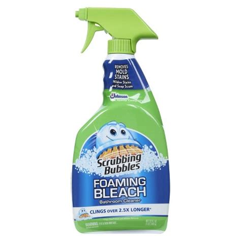 scrubbing bubbles multi surface bathroom cleaner only 0