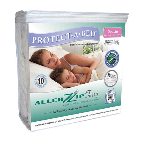 protect a bed allerzip terry towelling mattress protector