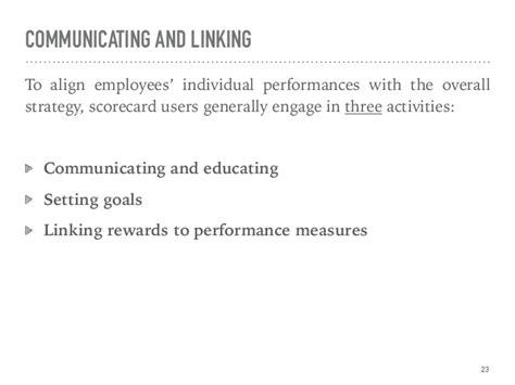 principles  balanced scorecard