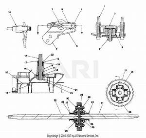 Mtd 14au844h401  1999  Parts Diagram For Transmission Assembly Ii