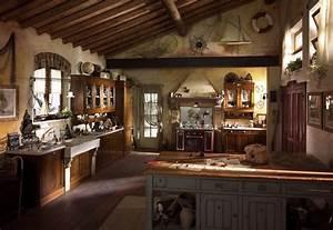 Attractive Country Kitchen Designs