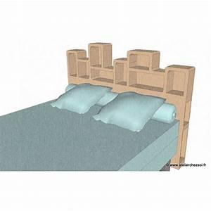 Tete De Lit Meuble : patron meuble en carton t te de lit haustin 2 personnes de l 39 atelier chez soi ~ Teatrodelosmanantiales.com Idées de Décoration