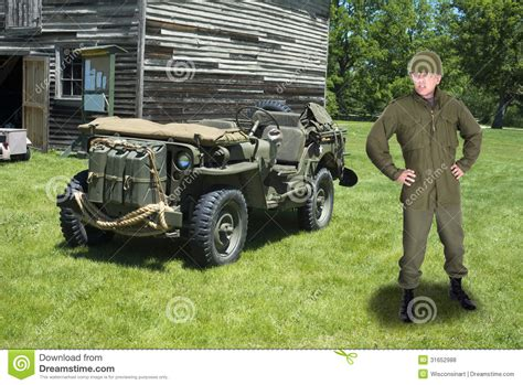 military jeep front war military army officer and retro jeep vehicle royalty
