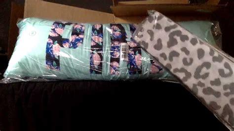 Vs Pink Dorm Bedding Mini Haul! Youtube
