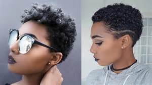 Short Haircuts For Black Women With Natural Hair 2019