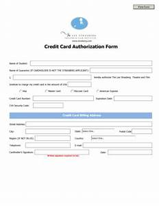 Automatic Payment Authorization Form Template 16 Printable Credit Card Form Template Html Fillable