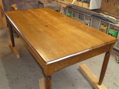 comment restaurer une table en bois bricobistro