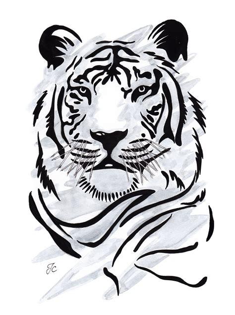 tiger illustration tiger art animal drawings drawings
