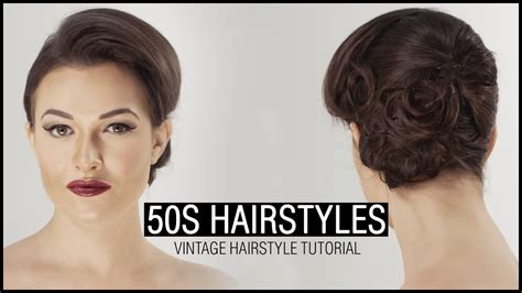 50s Hairstyles by How To Do 50s Hairstyle Vintage Hairstyle Tutorial