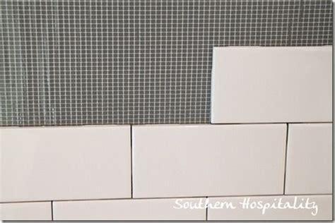 bondera tile mat backsplash how to install a subway tile backsplash subway tile