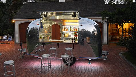 bar car debuts airstream trailer traveling bar special