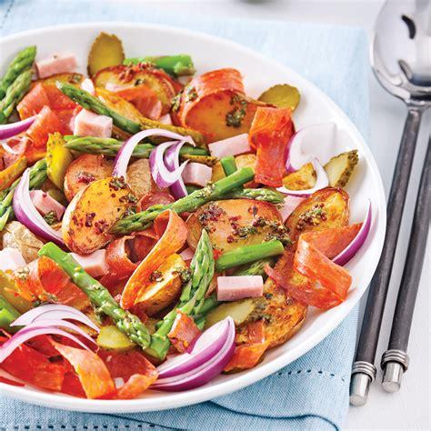 recette cuisine gourmande salade gourmande de pommes de terre rôties recettes