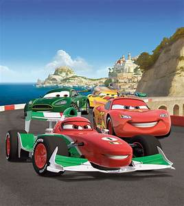 disney xl fototapete tapete cars lightning mcqueen With markise balkon mit lightning mcqueen tapete
