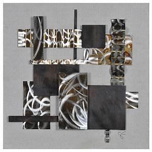 Heavy Metal II Wall Art - Industrial - Mixed Media Art
