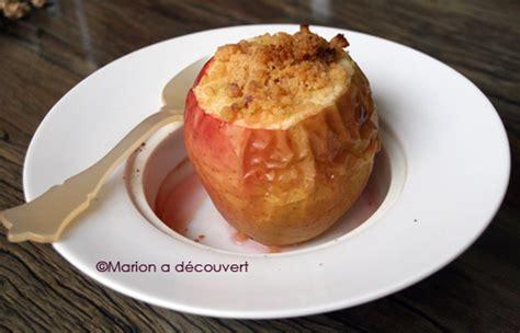 pommes au four fa 231 on crumble recettes de cuisine de marion flipo