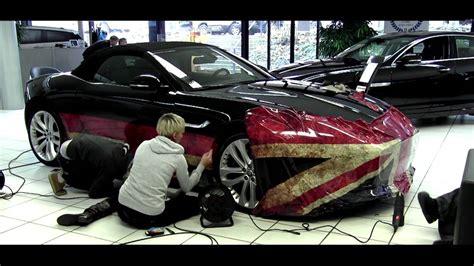 Car Wrap Jaguar F-type