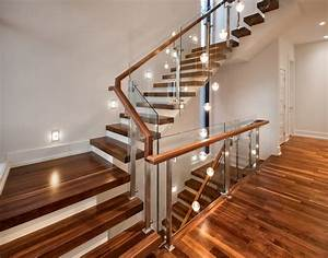 Splendid wood stair treads with hallway multi light pendant