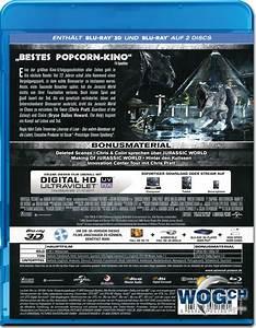 Jurassic World Blu-ray 3D (2 Discs) [Blu-ray 3D Filme ...
