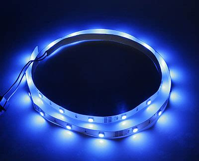 led strip lights with adhesive backing 11mm width led lights strip w adhesive backing 1 meter blue