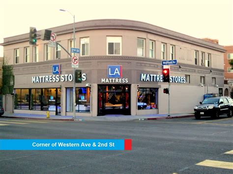 L A Mattress Stores In The Corner Of Western Ave 2nd