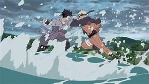 naruto-vs-sasuke | Daily Anime Art