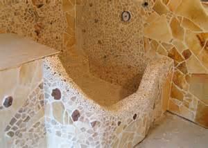 badezimmer mit naturstein naturstein mosaik malerei projekte