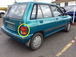 Ford Festiva Wa 121  5dr Hatch 10  91 U0026gt 3  94  Drivers  Right