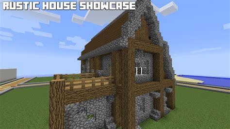 minecraft rustic house showcase youtube