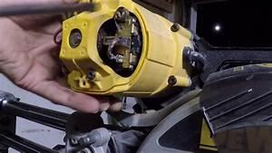 Dewalt Dw708 Miter Saw Armature Bearing Replacement  How