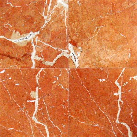 12x12 rojo alicante marble polished tile
