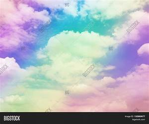 Colorful Cloud Sky Abstract Image & Photo | Bigstock