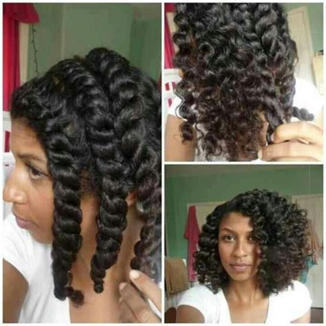 Flat Twist Out Hairstyles by Chunky Flat Twist Out Hair Protective