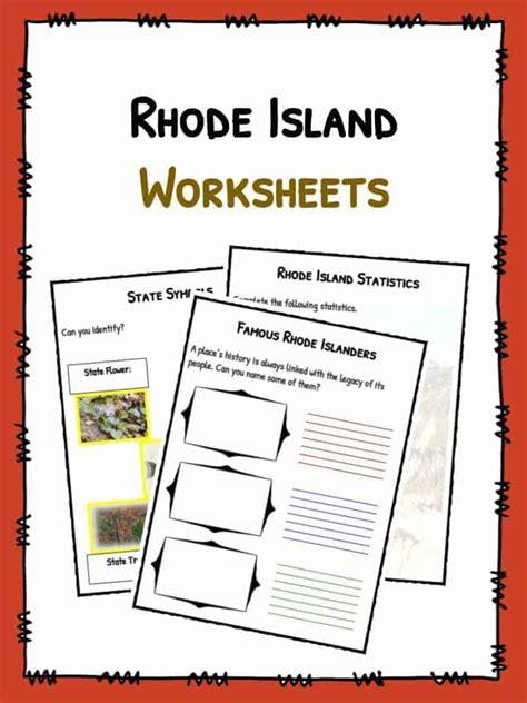 rhode island facts worksheets historical information