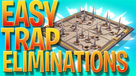 easy trap eliminations fortnite battle royale weekly