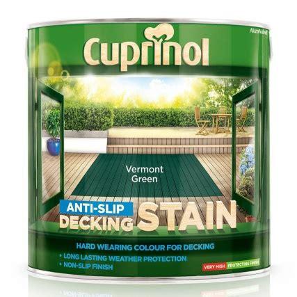 cuprinol anti slip decking stain vermont green  paint