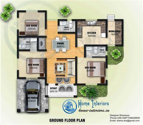 design home plans 1300 sq ft single floor contemporary home design