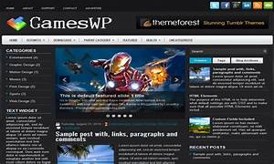gameswp blogger template blogger templates 2018 With blogger templates free download 2012