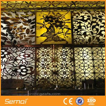 decorative sheet metal panels aluminium stainless steel perforated decorative sheet