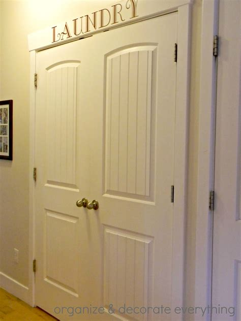 laundry room doors organized space of the week laundry closet a bowl