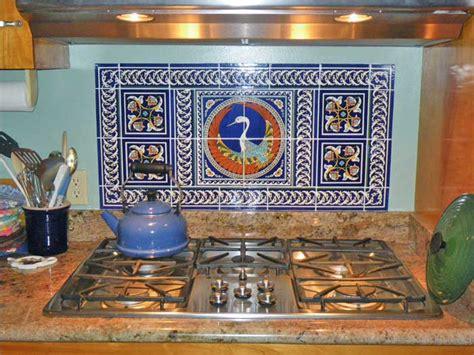 phoenix ceramic tile mural