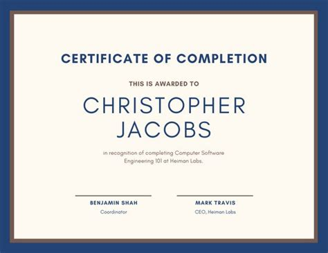 customize  certificate templates  canva