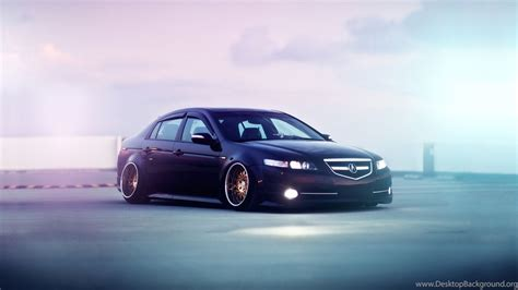 Stanced Cars 1920x1080 Wallpaper by Acura Tl Stance Wallpapers 1920x1080 361352 Desktop Background