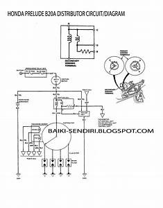 Diy  Fix On Your Own  Honda Prelude B20a Distributor Circuit  Diagram