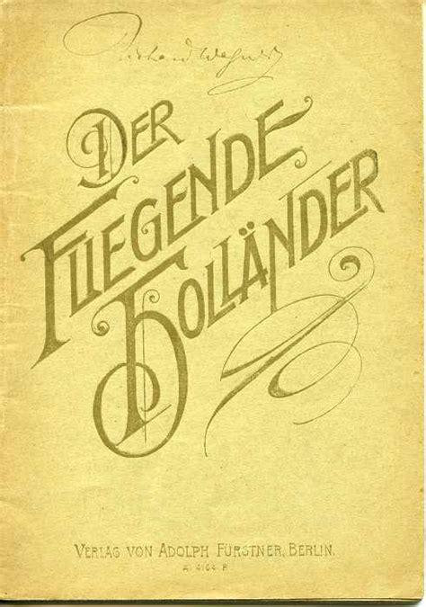 Wagner L Olandese Volante L Olandese Volante Opera