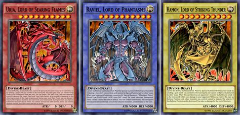 Sacred Beast Deck Recipe by Raviel Lord Of Phantasms Vs Obelisk The Tormentor Www