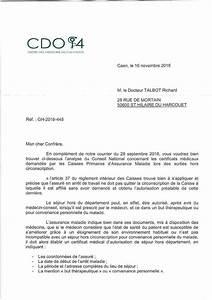 Sortie Autorisée Arret Maladie : comment faire une lettre de d rogation ~ Medecine-chirurgie-esthetiques.com Avis de Voitures