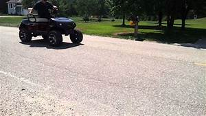 Stock Engine Lifted Yamaha G22 Golf Cart Wheelie