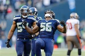 seattle seahawks led nfc west  afc west  top division