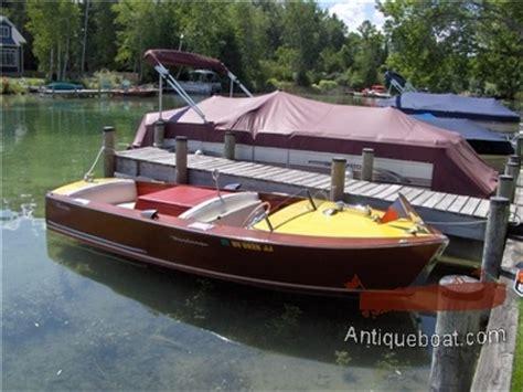 Utility 401 Boat by 16 1958 Century Resorter Utility Boat Classic Mahogany