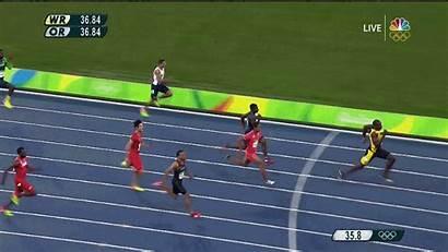 Bolt Usain Olympics Jamaica Relay Triple 4x100
